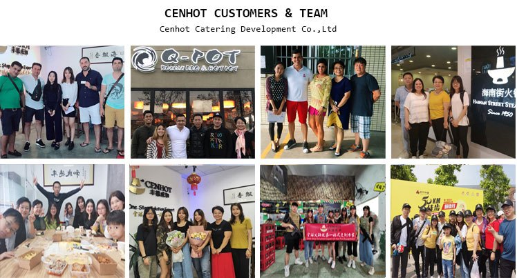 CENHOT customers & team