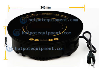 Hotpot Round Induction Cooker size - CENHOT