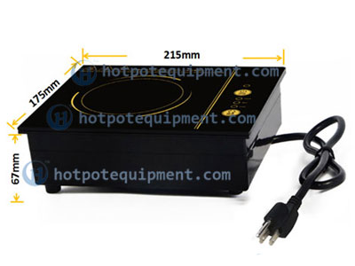 Touch Type Hot Pot Induction Electric Cooker Size - CENHOT