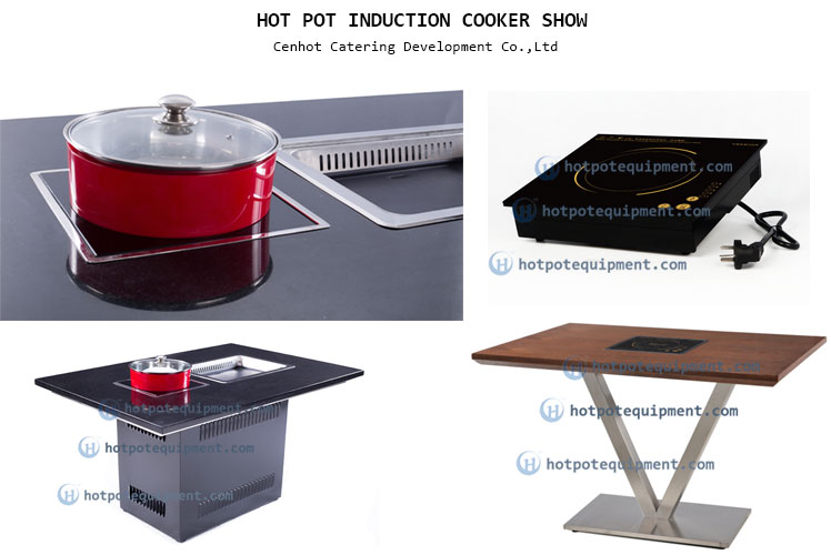 Restaurant Hot Pot Induction Cooker In the table - CENHOT