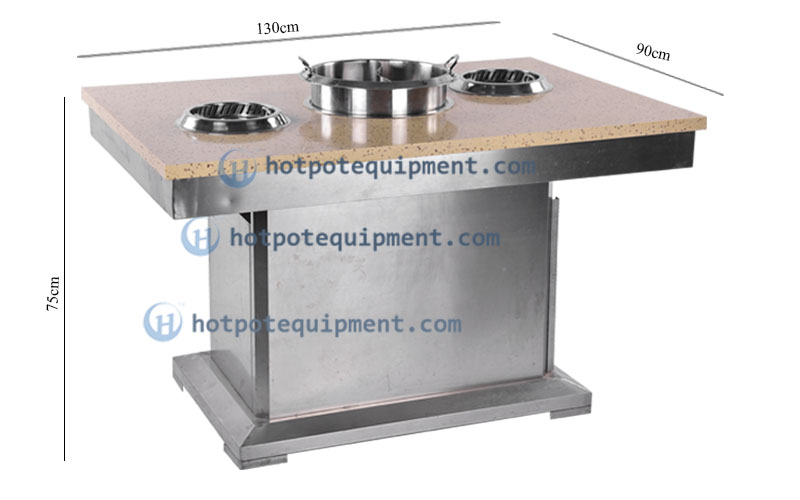 Smokeless Hot Pot Table - CENHOT