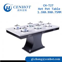 Square Shabu Shabu Hotpot Buffet Table For Sale Supplier China - CENHOT