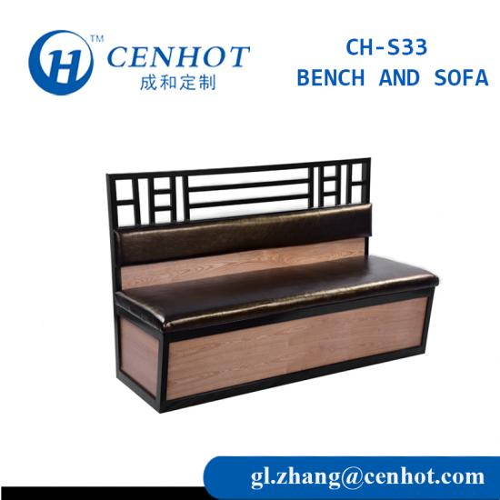 Hot Sale Purchase Restaurant Booths And Benchs Seating Furniture - CENHOT