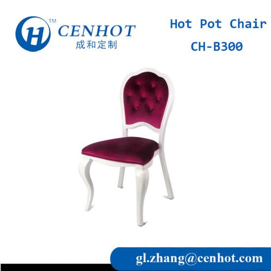 Western Hot Pot Chairs Restaurant Seating Wholesale - CENHOT