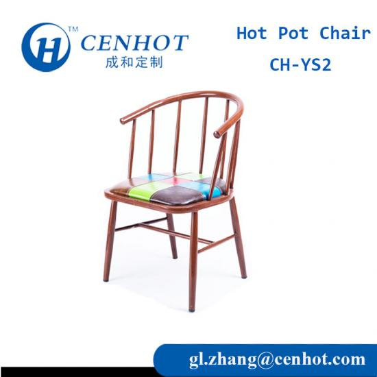 High Quality Metal Restaurant Chairs Seating For Sale - CENHOT