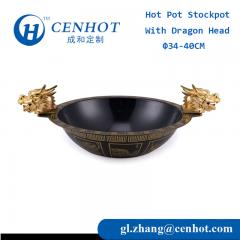 Chinese Dragon Boat Hot Pots Cookware Supply In Guangdong - CENHOT