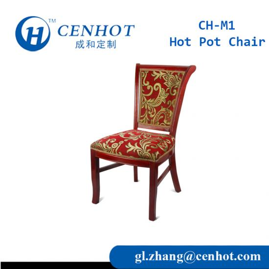 Best Quality Wooden Hot Pot Chair For Restaurant Suppliers China - CENHOT