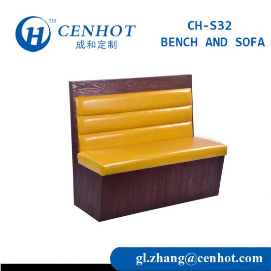 Custom Restaurant Booths And Benchs Seating Furniture Manufacturers - CENHOT