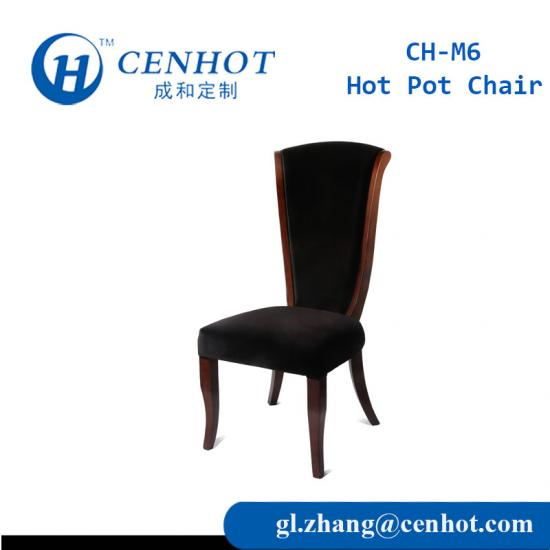 High-end Wooden Hot Pot Chairs Hotel Chairs Restaurant Dining Chairs - CENHOT