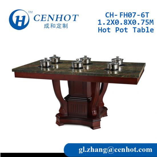 Shabu Shabu Tables For Restaurant Wholesale
