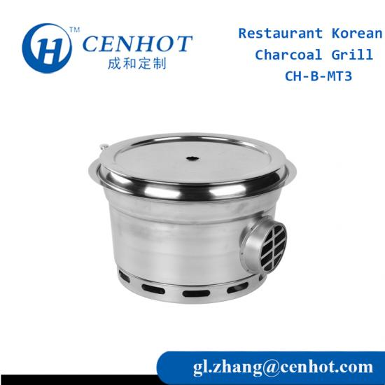 Korean BBQ Charcoal Grills For Restaurant Factory - CENHOT