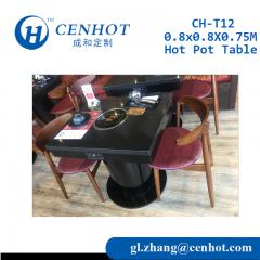 New Design Mini Hot Pot Table,Hotpot Restaurant Table - CENHOT