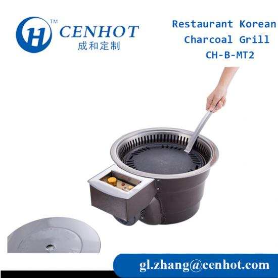 Korean BBQ With Charcoal For Restaurant Suppliers