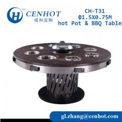 Shabu Shabu Table Korean BBQ Table Supplier China - CENHOT