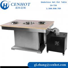 Smokeless Hot Pot Table Distributors China