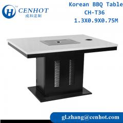Smokeless Korean BBQ Grill Table For Sale