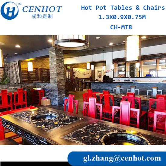 Hot Pot Tables & Chairs Set Supplier In China