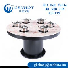 Commercial Hot Pot Buffet Tables China